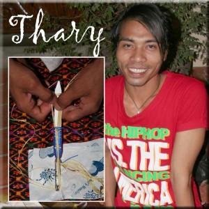 Thary, the Cambodian bracelet weaver