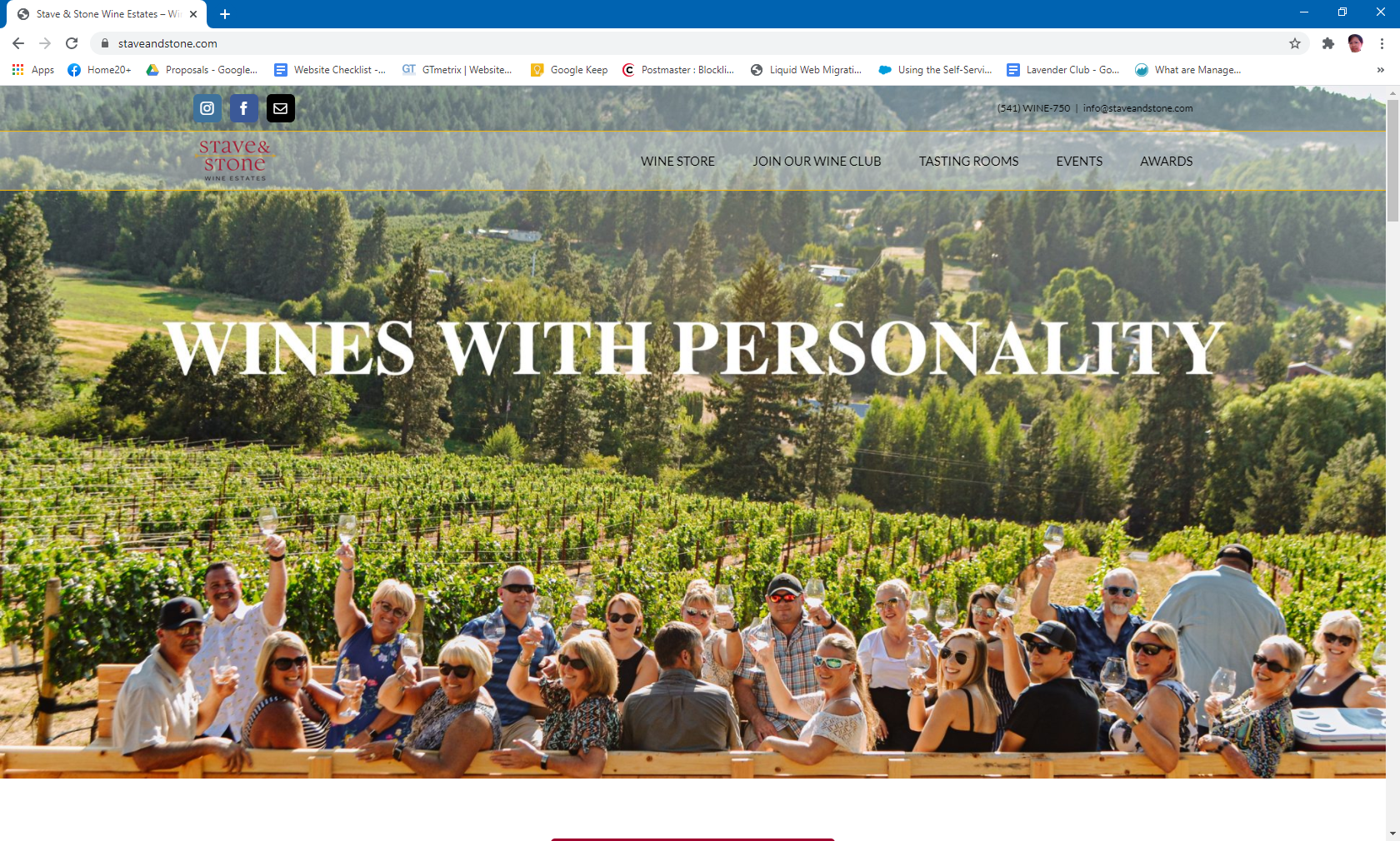 Stave and Stone Wine Estates
