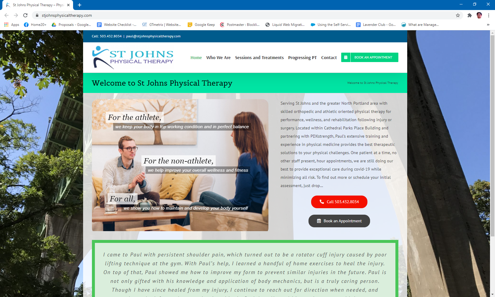 St Johns Physical Therapy