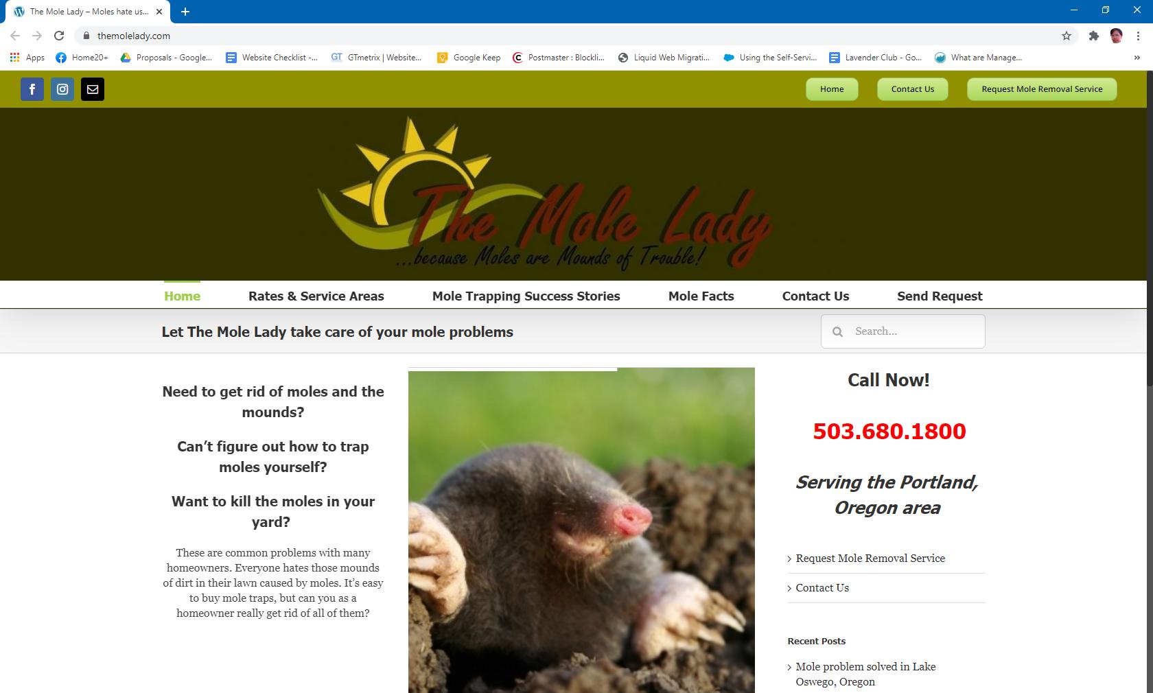 The Mole Lady