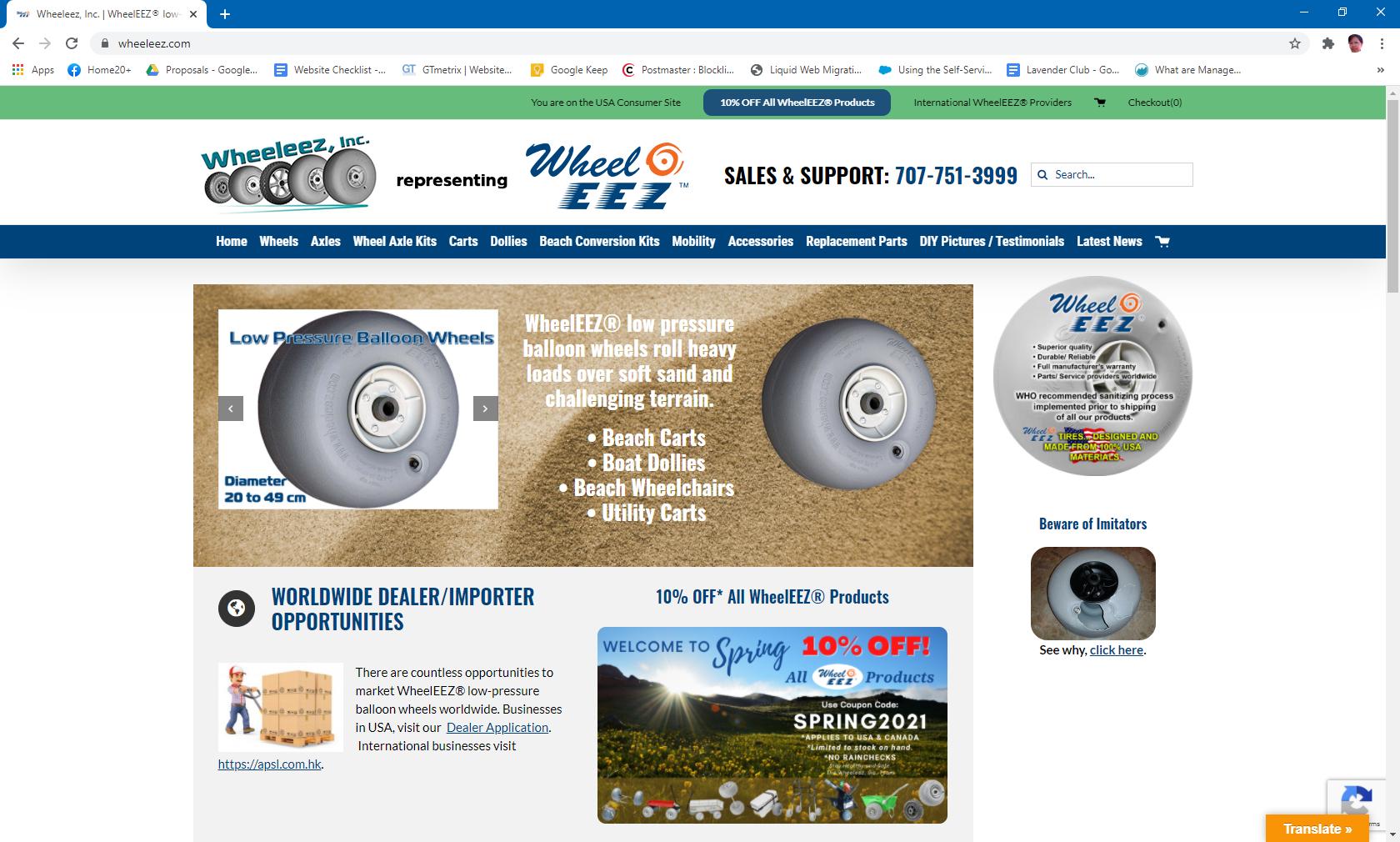 Wheeleez, Inc. | WheelEEZ® low-pressure wheels