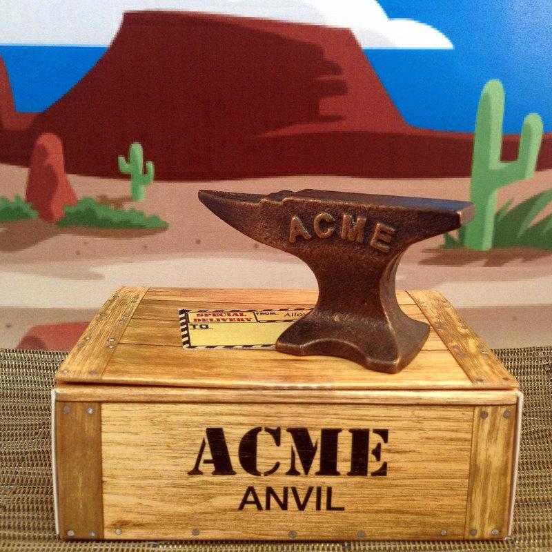 Buy an real ACME Anvil from AlloyKatsStudio